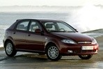 Car specs and fuel consumption for Chevrolet Lacetti
