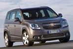 Car specs and fuel consumption for Chevrolet Orlando