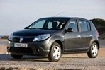 Car specs and fuel consumption for Dacia Sandero