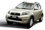 Car specs and fuel consumption for Daihatsu Terios