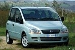 Car specs and fuel consumption for Fiat Multipla