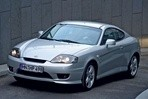 Car specs and fuel consumption for Hyundai Coupe