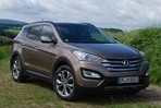 Car specs and fuel consumption for Hyundai Santa Fe
