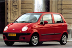 Car specs and fuel consumption for Daewoo Matiz