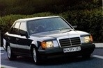 Car specs and fuel consumption for Mercedes W124
