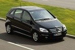 Car specs and fuel consumption for Mercedes B- class