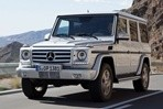 Car specs and fuel consumption for Mercedes G- class