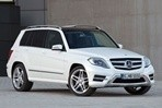Car specs and fuel consumption for Mercedes GLK