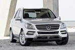 Car specs and fuel consumption for Mercedes ML
