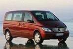 Car specs and fuel consumption for Mercedes Viano