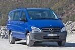 Car specs and fuel consumption for Mercedes Vito