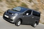 Car specs and fuel consumption for Nissan Evalia