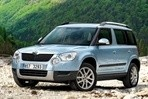 Car specs and fuel consumption for Skoda Yeti