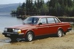 Car specs and fuel consumption for Volvo 240
